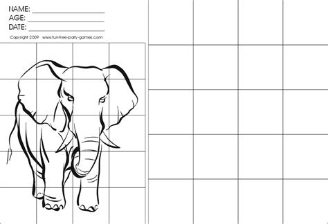 grid drawing worksheets drawing  grids activity