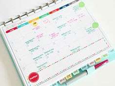 Free Planner Pages from Mac & Cheese chronicles. | Planning a busy ...