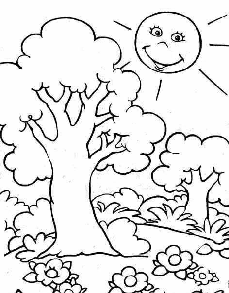 【En iyi seçim】 Okul öncesi Orman Boyama