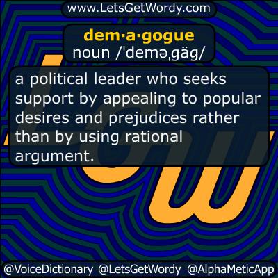 demagogue 06/01/2016 GFX Definition