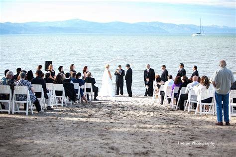 Beach Ceremony in Lake Tahoe at our Sand Ceremony Venue