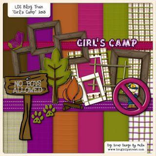 Brightly Street Girl_s Camp sample