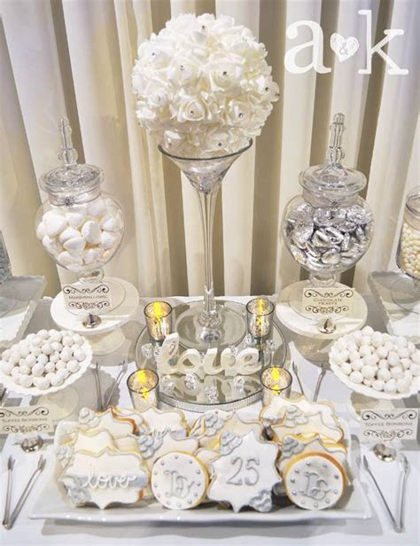 Dave & Emma's Silver Wedding Anniversary   A&K Lolly Buffet