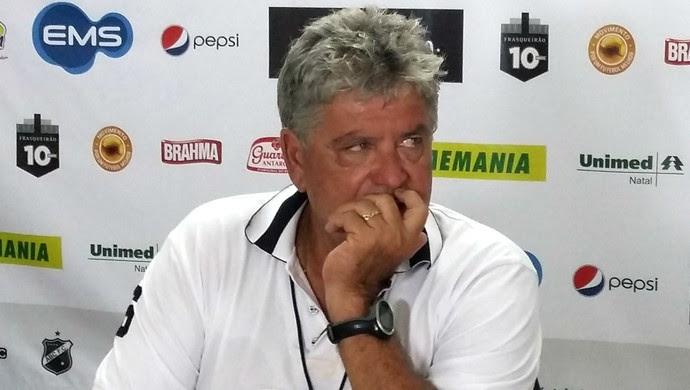 ABC Geninho técnico (Foto: Jocaff Souza/GloboEsporte.com)