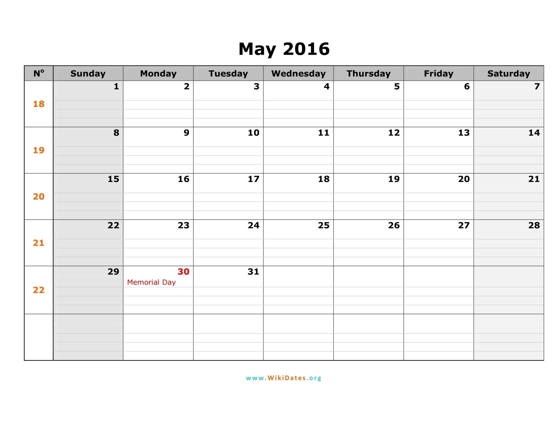 may 2016 calendar sunday 01