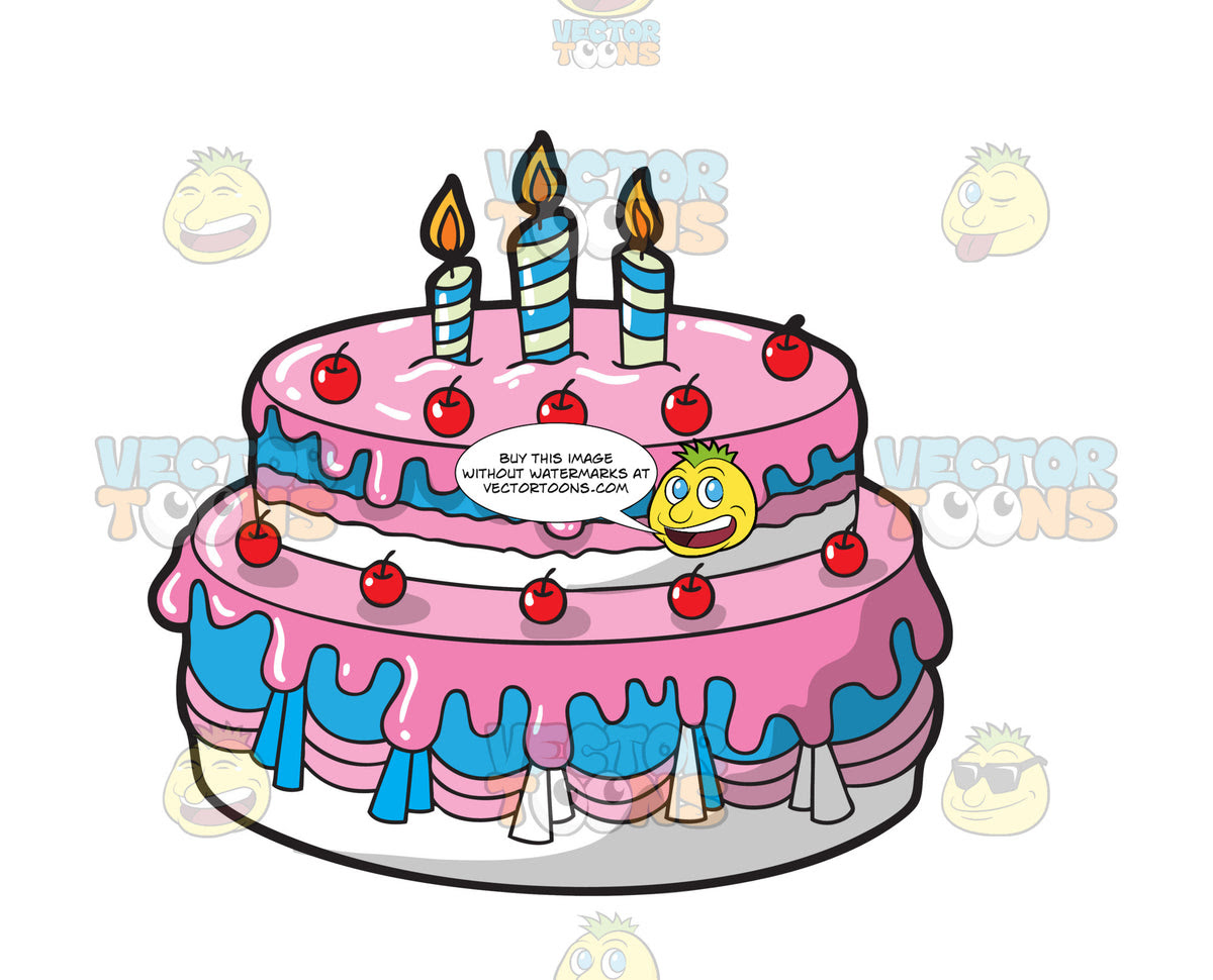 Transparent Cake Clipart Birthday Cake Without Candles Png Png