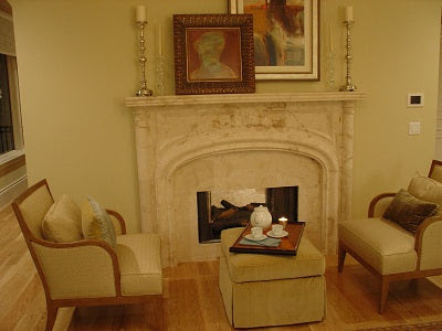 Architectural Stone for Fireplace