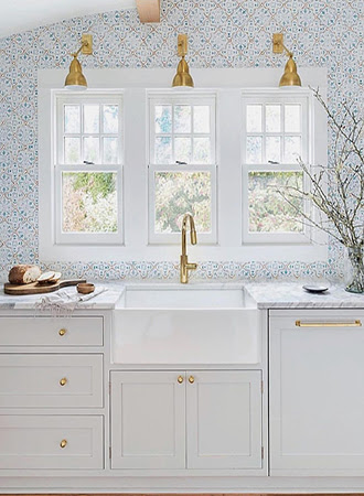 22 Creative Kitchen Wallpaper Ideas To Bring Any Space To Life Trendy Star Fitness