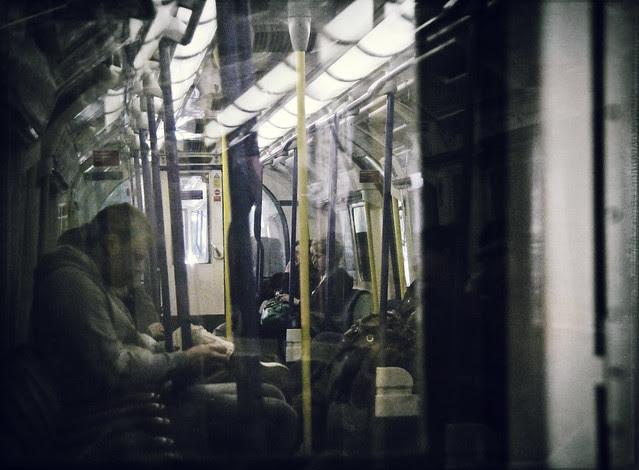 On tube