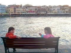 hania chania old port venetian harbour