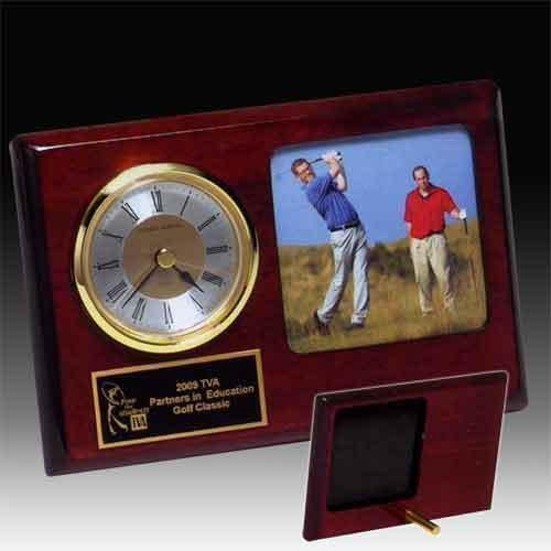 Photo Desk Clock Gifts Personalized