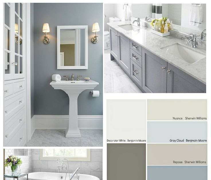 What Color Paint Goes With Gray Tile