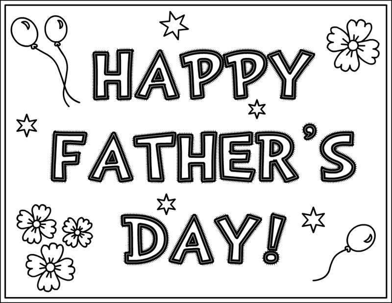 fathers day card worksheet - HD1048×810