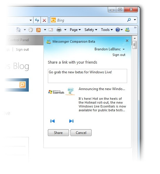 My Thoughts On The New Windows Live Essentials Windows