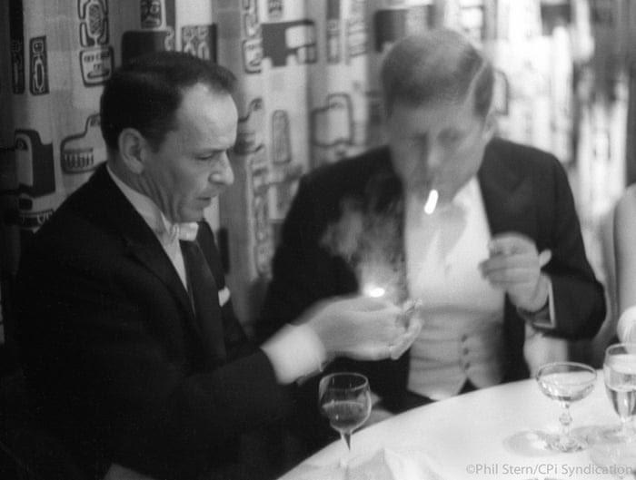 Frank Sinatra and JFK at the Gala, 1961