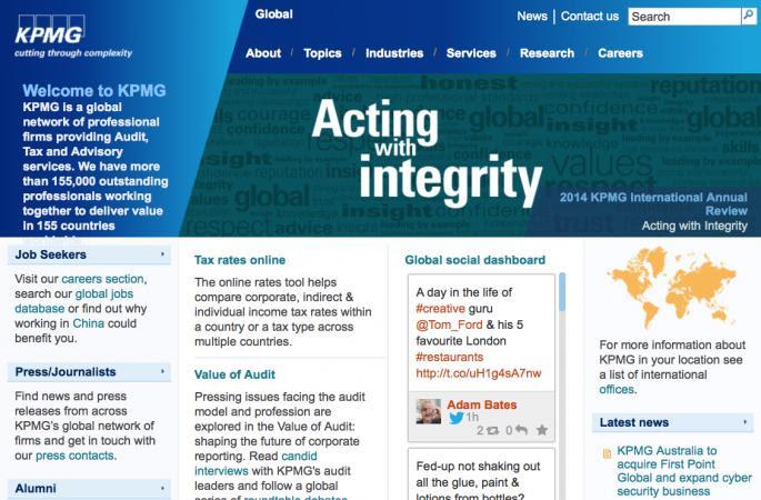 Don't Ask Us! - KPMG Global's Astonishing Response on 1MDB