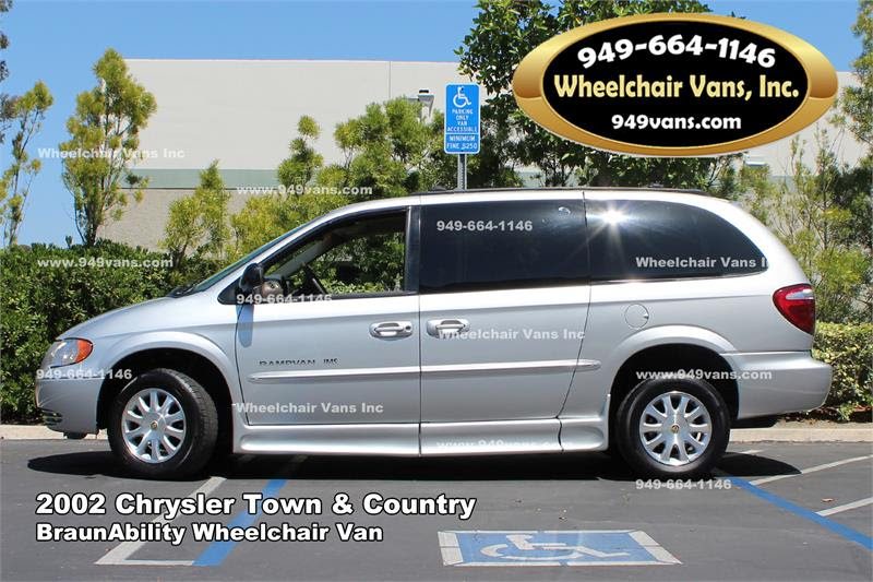 For Sale 2002 Chrysler Town And Country Braunability