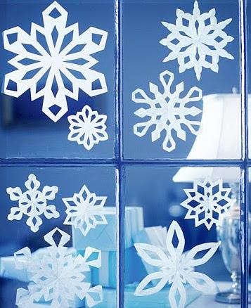 Copos de nieve para decorar las ventanas y espejos-07