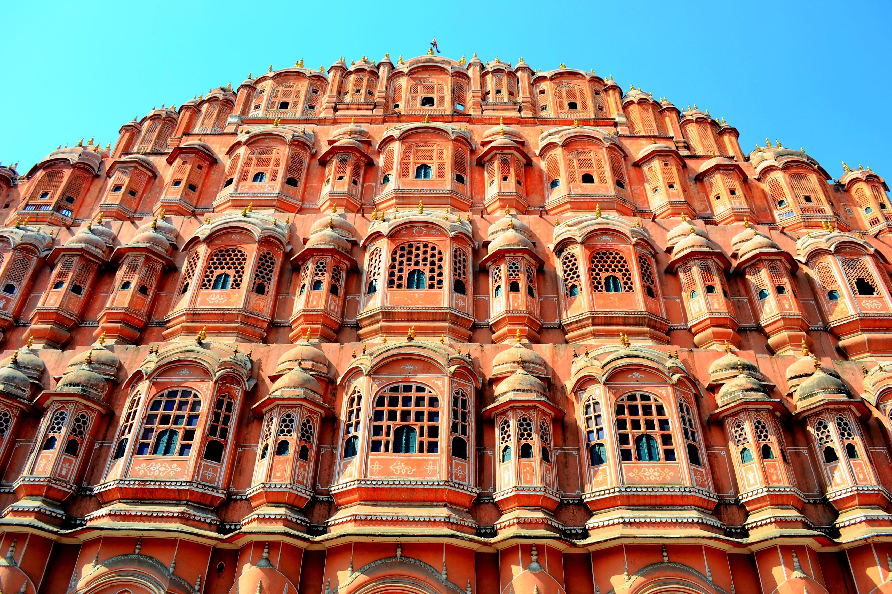India Travel Destination: Hawa Mahal (Palace of Winds) in Jaipur