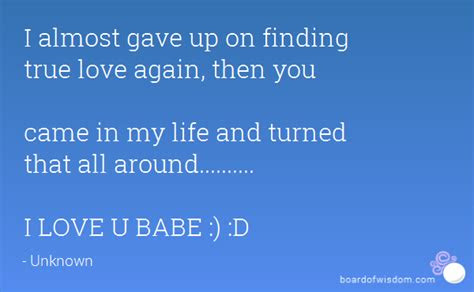 Quotes Finding Love Again