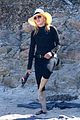 madonna wears all black to the beach 02
