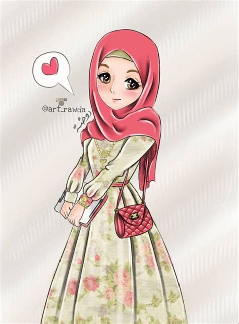 hijab animations images  pinterest