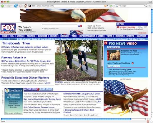FoxNews claiming Obama's newly