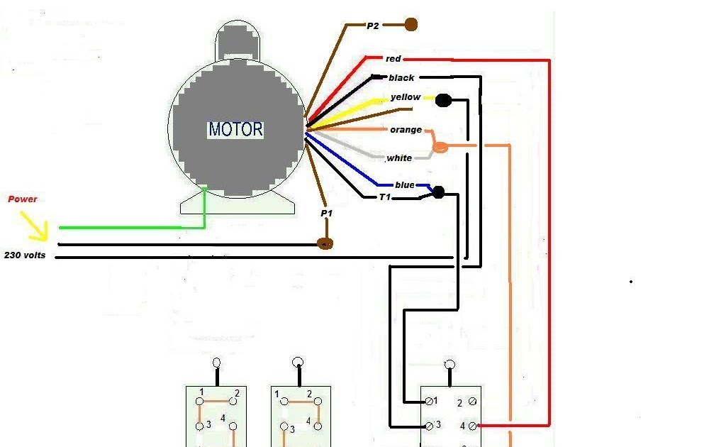 3 Wire Washing Machine Motor Wiring Diagram