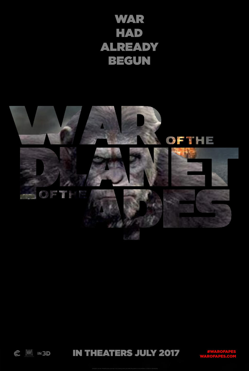 Resultado de imagem para war for the planet of the apes 2017