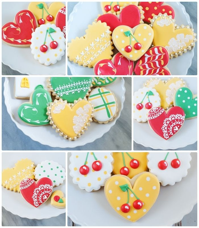 decorated cookies from bakeat350.blogspot.com