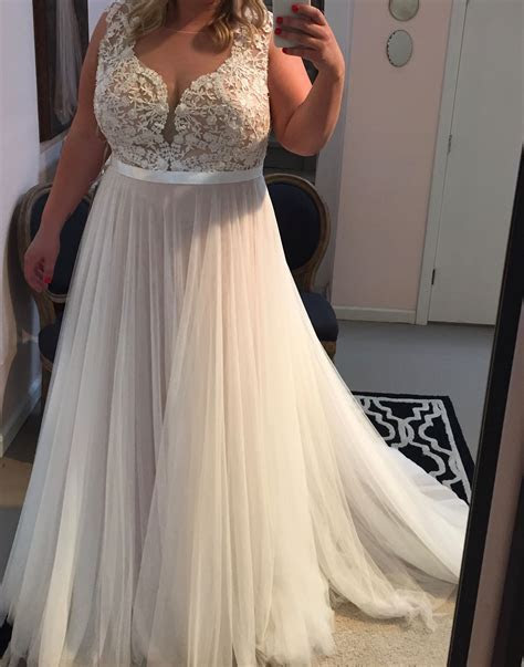 Plus size wedding dress,beach wedding dress   Wedding