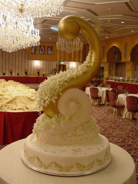 Royal wedding cakes from Kuwait   BoreMe
