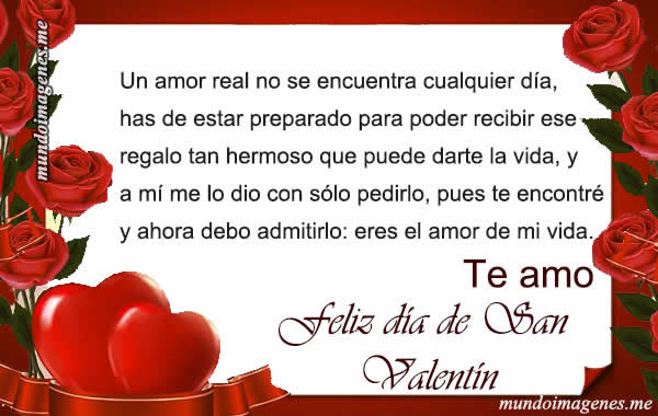 Postales Y Tarjetas De San Valentin Con Frases Y Mensajes Mundo