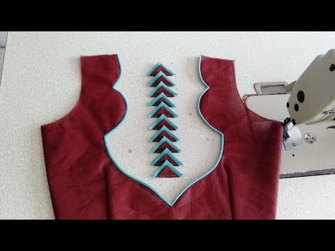 Beautiful new model blouse design cutting and stitching#blousedesigns#dh...