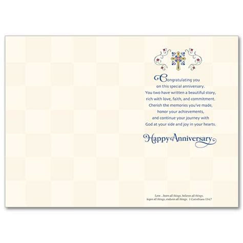 25 Blessed Years Together: 25th Wedding Anniversary Card