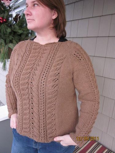 Ramona (the new sweater design)