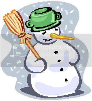 Frosty the Snowman clipart for kids to get excited about winter and into the Christmas spirit.
