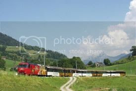 Swiss Chocolate Train photo