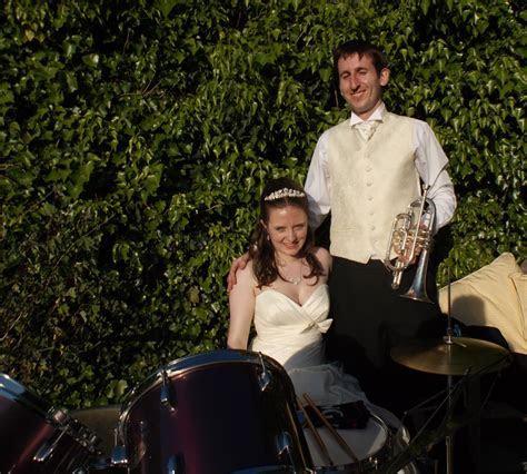 Wedding at Malvern Hills District Brass Band   Empty Chairs