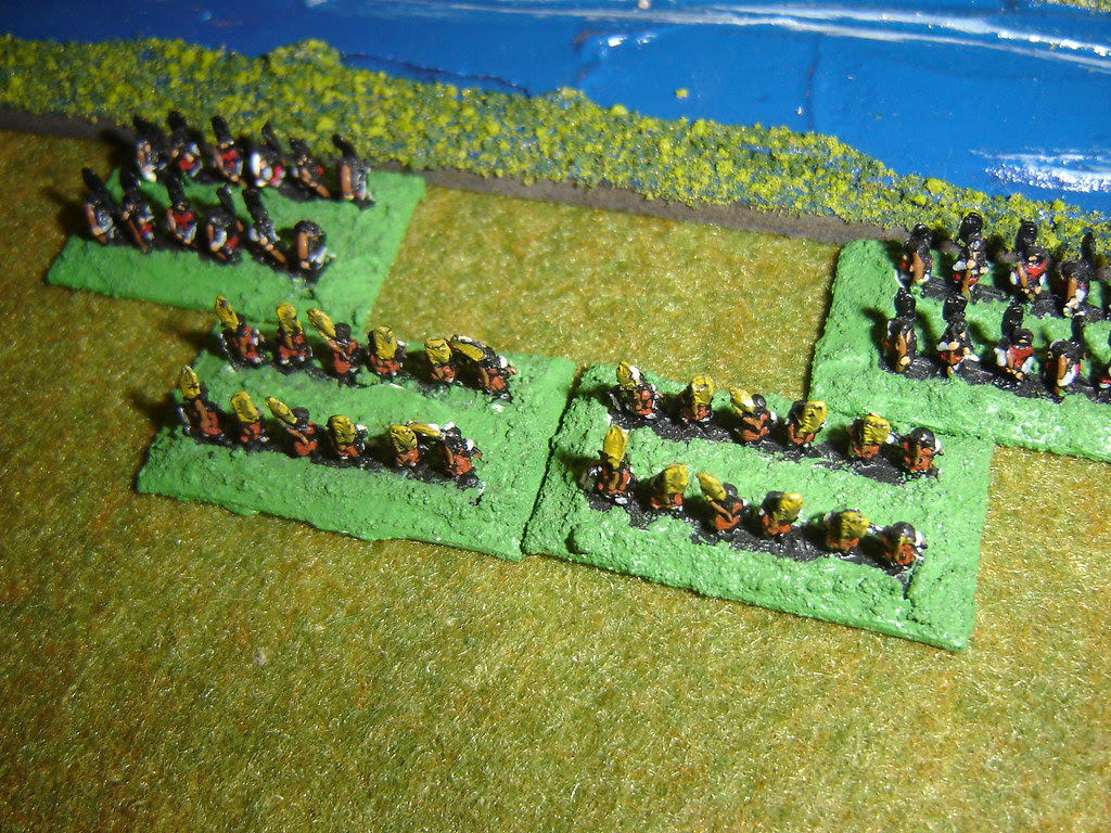 Toyotomi Arquebusiers charge Yamagata skirmishers