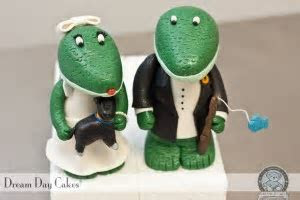 Gator Cake Toppers. Gainesville, Florida.   Dream Day Cakes