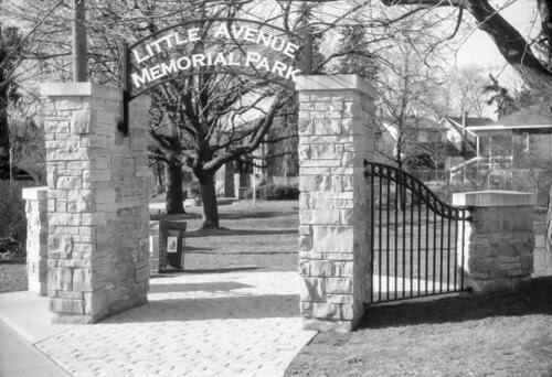 Weston - Little Avenue Memorial Park
