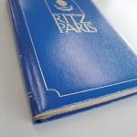 当時の「ヘルスクラブ」のマネジャーさんからいただいた立派な手帳