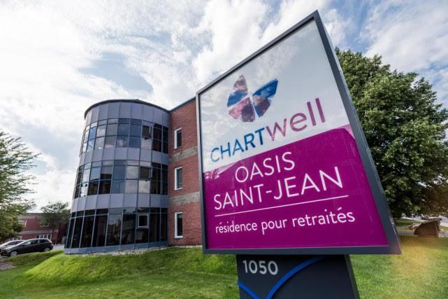 La résidence Chartwell Oasis Saint-Jean n'a pas respecté... (PHOTO EDOUARD PLANTE-FRéCHETTE, LA PRESSE)