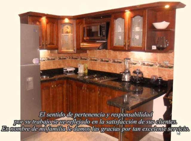 Fotos De Cocinas Integrales Y Closet Chocolate En Madera De Pino Lzk  newhairstylesformen2014.com