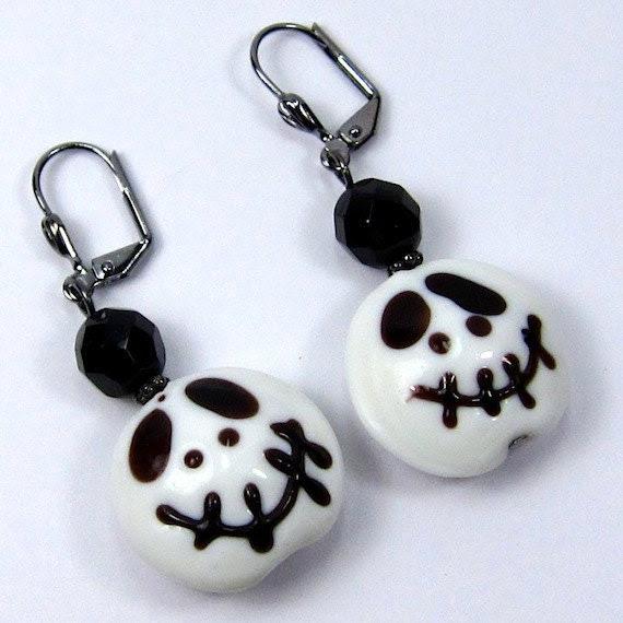 handmade earrings at catju designs etsy artist