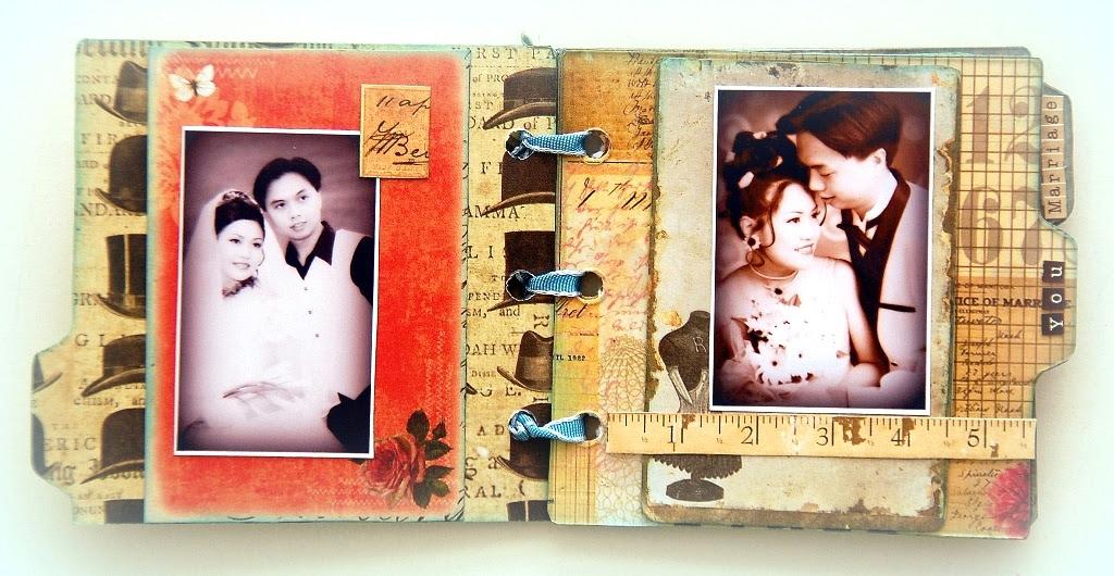 Cherish Acrylic Mini Album by Irene Tan