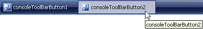 Colorized ConsoleToolBarButton