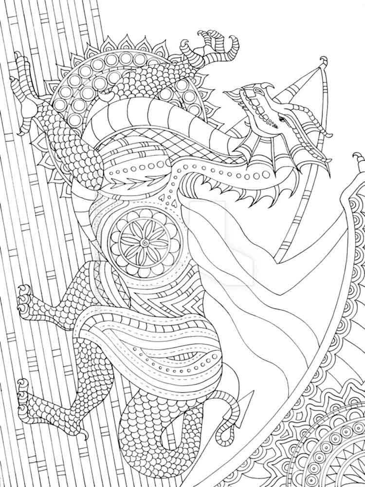 Detailed coloring pages for adults. Free Printable ...