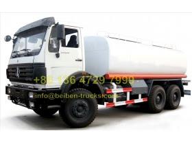 china beiben 2527 oil tanker truck